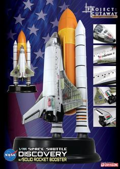 Aerospace Home Decor Space Shuttle Rocket With Orbiter Scifi Spacecraft