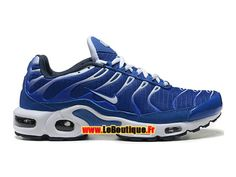 hot sale online f0a72 602dd Nike Air Max Tn Tuned Requin 2014 - Chaussures Nike Sportswear Pas Cher  Pour Homme Bleu Blanc Noir 604133-306