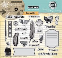 Hero Arts Rubber Cling Stamps Sets - My Favorite #765 AC030