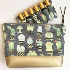 Cactus, Roll On Bottles, Essential Oils, Honey, Sewing, Shop, Bags, Etsy, Products
