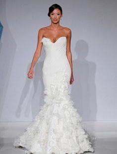 Bridal Gowns: Mark Zunino Mermaid Wedding Dress