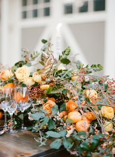 Event Planning: Kate Siegel Fine Events - katesiegel.com Photography: Sylvie Gil Photography - www.sylviegilphotography.com/   Read More on SMP: http://www.stylemepretty.com/2016/10/31/fall-wedding-orange-color-palette/