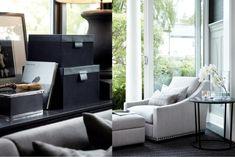 An armchair by the window. Living Room Interior, Coastal Living, Furniture Decor, Rum, Armchair, Sweet Home, Lounge, Sofa, Interior Design