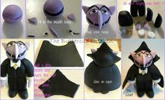 Count Dracula via Cake Club - For all your cake decorating supplies, please visit craftcompany.co.uk