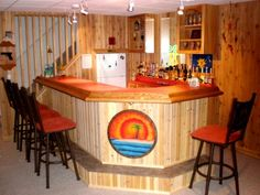 EHBP-09 45 Degree Corner Bar Plans