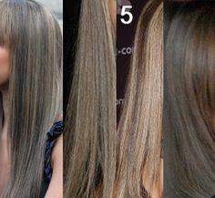 Очень сложная задача :-( Как получить пепельный цвет волос, чтобы был прям серебристый графит?