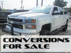 Lifted 2014 Chevy Silverado 1500 LTZ Crew Cab Southern Comfort Black Widow