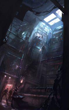 City of Darkness by PixelObsession.deviantart.com on @deviantART