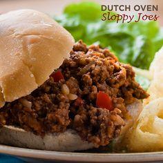 Easy Dutch Oven Sloppy Joes | 50 Campfires