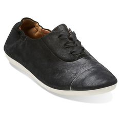 Clarks Women's Feature Show Buy Shoes, Clarks, Adidas Sneakers, Black Leather, Free Shipping, Stitch, Detail, Fashion, Moda