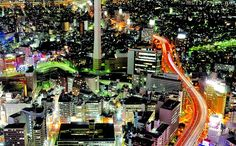 Simply beautiful Japanese scenes- View from Sunshine 60, Ikebukuro, Tokyo. With 1000s of tour operators to choose from, plan a stress-free vacation at https://tigsee.com
