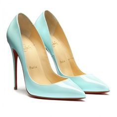 Light blue Pigalle Follies pumps (720 CAD) ❤ liked on Polyvore featuring shoes, pumps, heels, chaussures, sapatos, light blue pumps, heels & pumps and light blue shoes