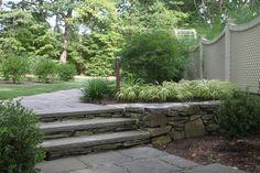 bluestone steps fieldstone risers - Google Search