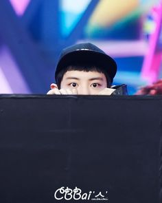 #Chanyeol Are you hiding someone?