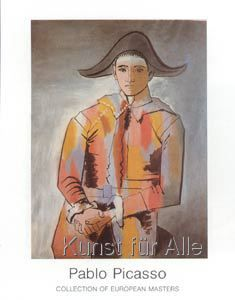 Framed Art Print: Arlequin, Les Mains Croisee, 1923 by Pablo Picasso : Framed Artwork, Framed Art Prints, Painting Prints, Canvas Prints, Wall Art, Painting Art, Pablo Picasso, Picasso Art, Folded Hands