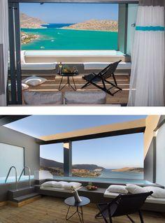Elounda Blu Hotel - Elounda Crete by architect Olivia Siskou i n t e r i o r p l a n n i n g