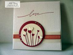 Infopost - Kreativ mit Stempel!: Noch eine Hochzeitskarte...