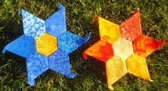 Aren't these English Paper Pieced Stars inspiring?
