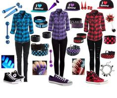 You are in the right place about tomboy outfits toddler Here we offer you the most beautiful picture Cute Emo Outfits, Scene Outfits, Tomboy Outfits, Outfits For Teens, Girl Outfits, Casual Outfits, Fashion Outfits, Skater Outfits, Purple Outfits