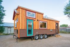 Tiny House Exterior, Tiny House Builders, Tiny House Plans, Tiny House On Wheels, Tiny House Design, Tiny Cabins, Cabins And Cottages, Tiny Houses For Sale, Little Houses