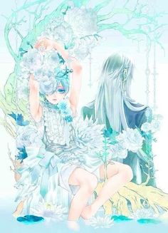 黒執事 Black Butler Ciel Phantomhive and Undertaker