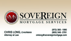 Sovereign Mortgage Services Business Card created by Marni G Designs #MarniGDesigns #BusinessCard #BC #SovereignMortgageServices