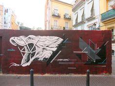 ZAMOC & SEIKON  ..  [Valencia, Spain 2014] Valencia Spain, Graffiti Art, Urban Art, Street Photography, Madrid, Street Art, Neon Signs, Instagram Posts, Vsco Cam