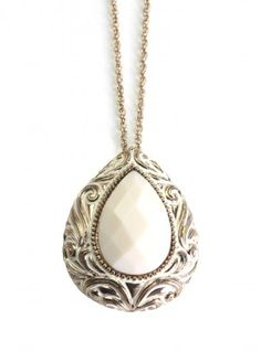The Cream Dream Necklace $18.00