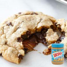 Les américains adorent le beurre de cacahuète et avec cette recette de cookies au beurre de cacahuète vous allez savoir pourquoi !