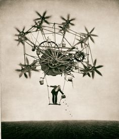 Architect's Brother, photogravures by Robert and Shana ParkeHarrison : Passage / The Sower.
