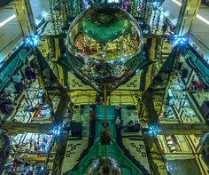 disco ball - upside down - HDR PHOTO