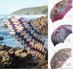 Beautiful Afro umbrellas , now @ dkhoi.com