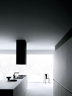Dark ambience | Stylish Black Kitchen | Minimal Living Style | Modern Minimalist Interiors | Contemporary Decor Design #inspiration #nakedstyle