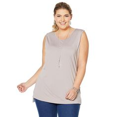 9198474541a Women's Apt. 9® Tunic Tank in 2019 | Products | Tunic tank tops ...