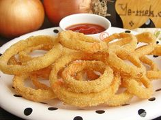 How to cook Crispy Onion Rings Recipe? You can easily make Crispy Onion Rings Recipe. You will love our Crispy O Yummy Recipes, Healthy Chicken Recipes, Salad Recipes, Crispy Onions, Good Food, Yummy Food, Turkish Recipes, Onion Rings, Food Illustrations