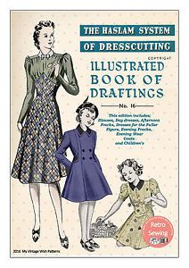The-Haslam-System-of-Dresscutting-No-16-1930-039-s-Copy