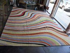 Colorful Paul Smith Swirl Rug