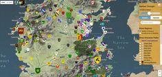 Fans de Game of Thrones ? Cette carte interactive est faite pour vous !