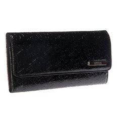 Kenneth Cole Reaction Dress to Impress Tri Me A River Wallet Black w Solid -- See this great product.