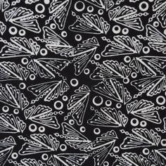 Wings by Batik Tambal, Black & White