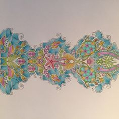 Johanna Basford | Colouring Gallery | By Kim