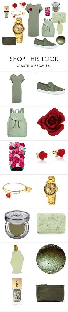 """""""Untitled #285"""" by julissadegrijze on Polyvore featuring Boohoo, Sperry, BAGGU, Kate Spade, Disney, Invicta, Urban Decay, Pré de Provence, Donna Karan and Yves Saint Laurent"""