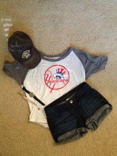 Yankees baseball outfit