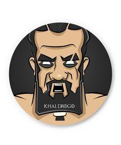 Khal Drogo   Game Of Thrones Fridge Magnet
