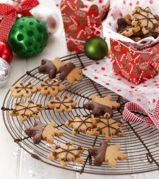 Cadbury Chocolate-dipped Peanut Butter Shortbread Recipe