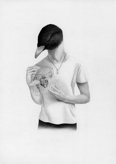 Bestial Boys by Ondrej Moucka #Illustration #inspiration #wild