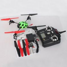 V929 4CH 2.4GHZ 4-Axis Beetle Style Quadcopter Dexterous UFO 3D Fly RC Helicopter Green by Crazy Cart. $64.99. Features: 1. It is very easy to control 2. A fantastic gift for your kid 3. It will bring your kid lots of fun 4. Beautiful and classic toy 5. Flight Control: LCD remote control 6. It will be a good companion of your kid 7. It will give your kid unforgettable memory on special days  Specifications: 1. Main Rotor Diameter: 13.5m/6.31inch 2. item NO.: V929 3. Materia...