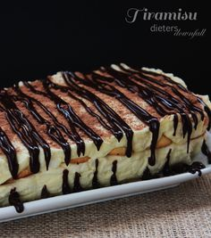Tiramisu - homemade Mascarpone and Ladyfingers make the best filling for this special dessert . from #dietersdownfall.com
