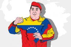 Hugo Chávez Ronald Mcdonald, Funny, Fictional Characters, Art, Illustrations, Art Background, Kunst, Funny Parenting, Performing Arts