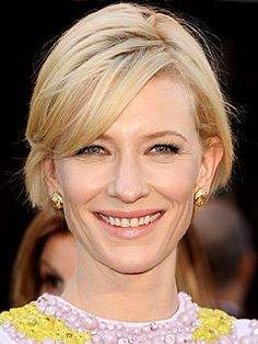 Cate Blanchett in Givenchy and jellow diamonds